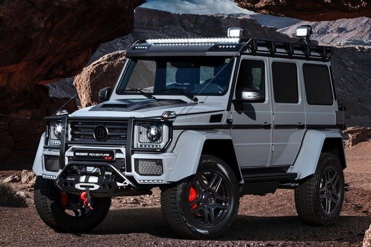 brabus mercedes g550 adventure 4x4 men 39 s gear. Black Bedroom Furniture Sets. Home Design Ideas