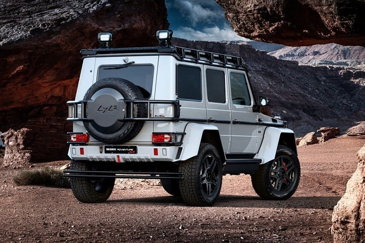 Amg G Wagon >> BRABUS Mercedes G550 Adventure 4x4 | Men's Gear