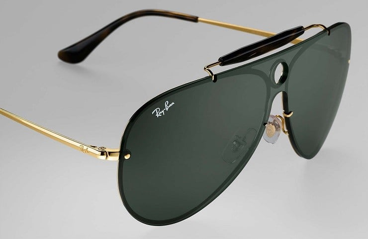 Ray Ban Blaze Shooter Sunglasses Men S Gear