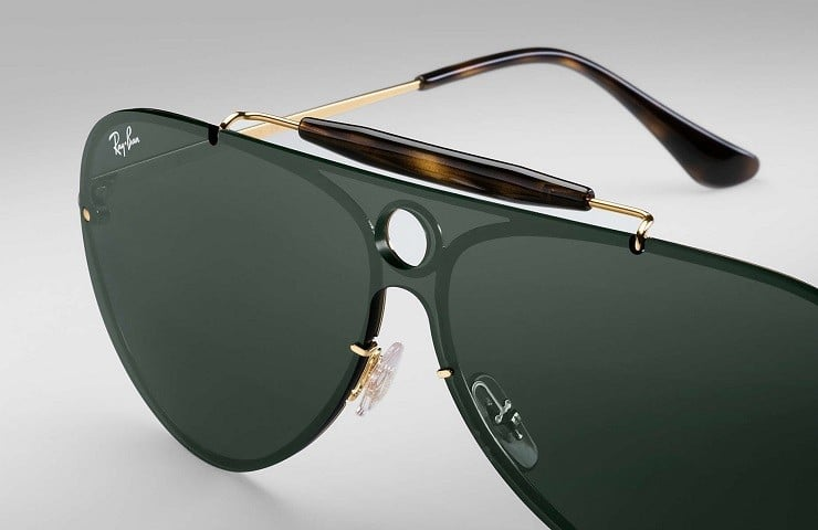 195183c2e32 With more than 70 years of experience behind the new Ray-Ban Shooter  sunglasses