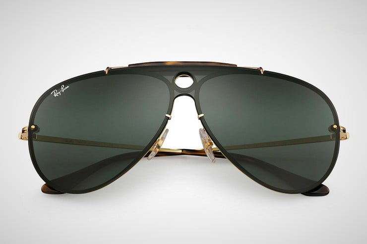 Ray-Ban s Shooter line of over-sized aviator sunglasses has long been known  for its traditional tear-drop shaped lenses. But the 2017 edition of these  ... 45baf166a