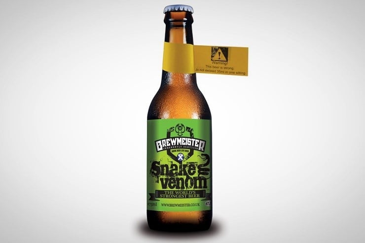 Strongest Alcohol In The World >> Brewmeister Snake Venom – The World's Strongest Beer | Men ...