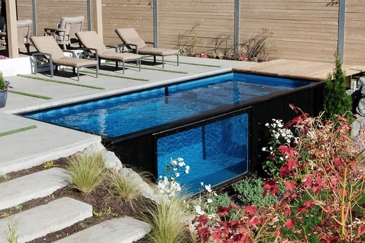modpools shipping container pools men 39 s gear. Black Bedroom Furniture Sets. Home Design Ideas