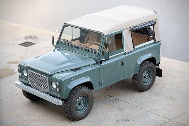 Land Rover Defender D90 By Cool Amp Vintage Men S Gear