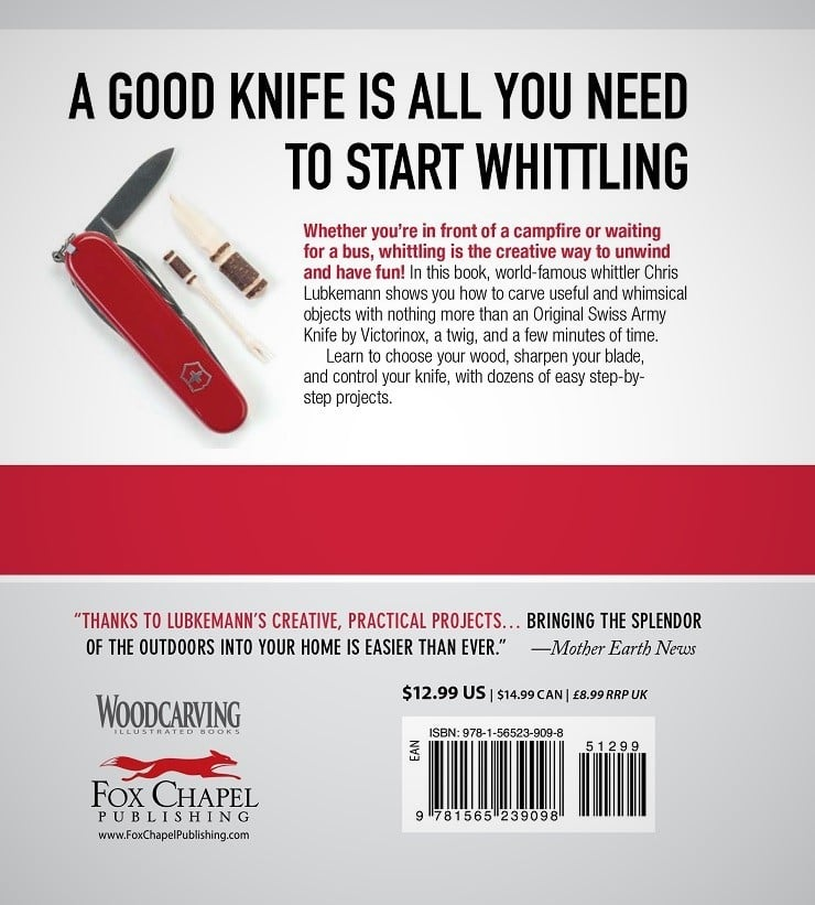 Swiss Army Knife Whittling Book Men S Gear
