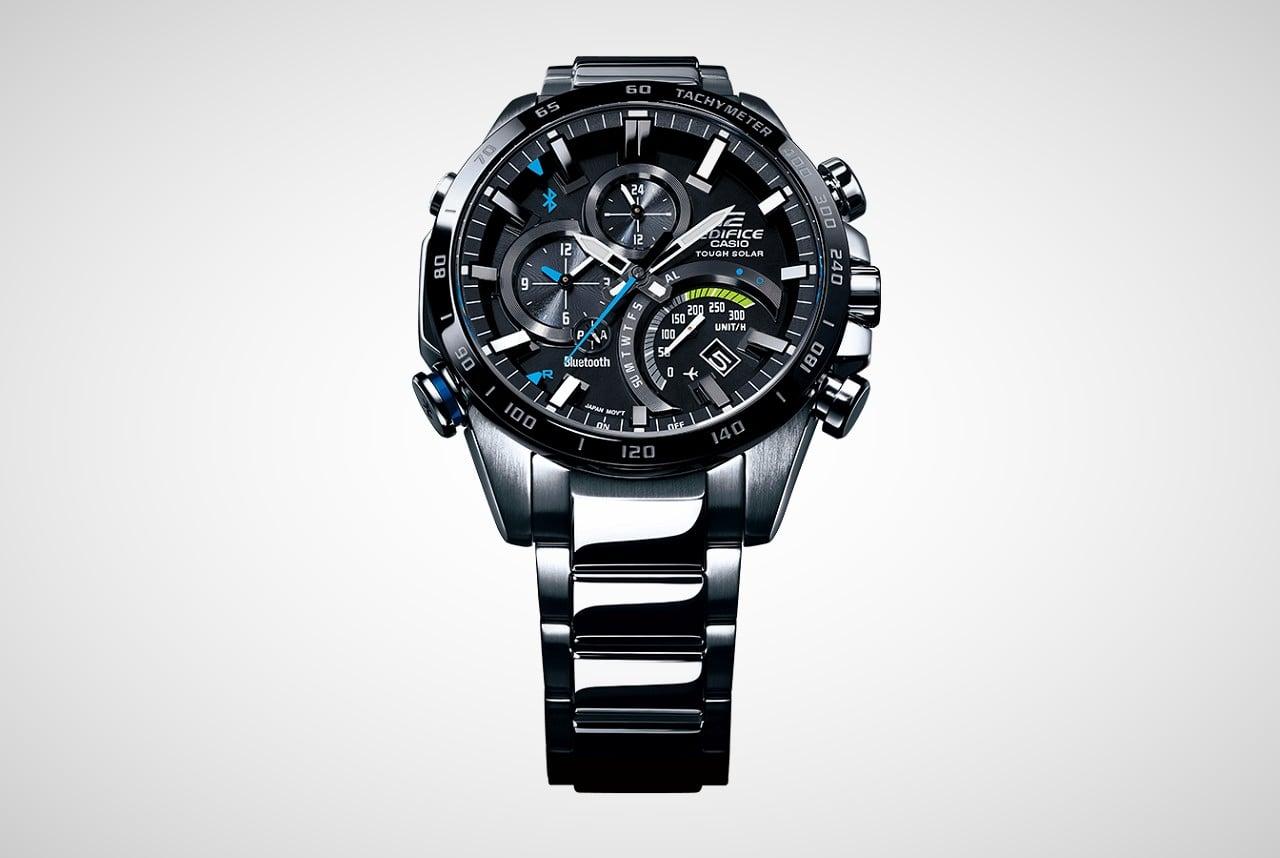 Best Motorcycle Jacket >> Casio EDIFICE EQB-501 Series Watches | Men's Gear