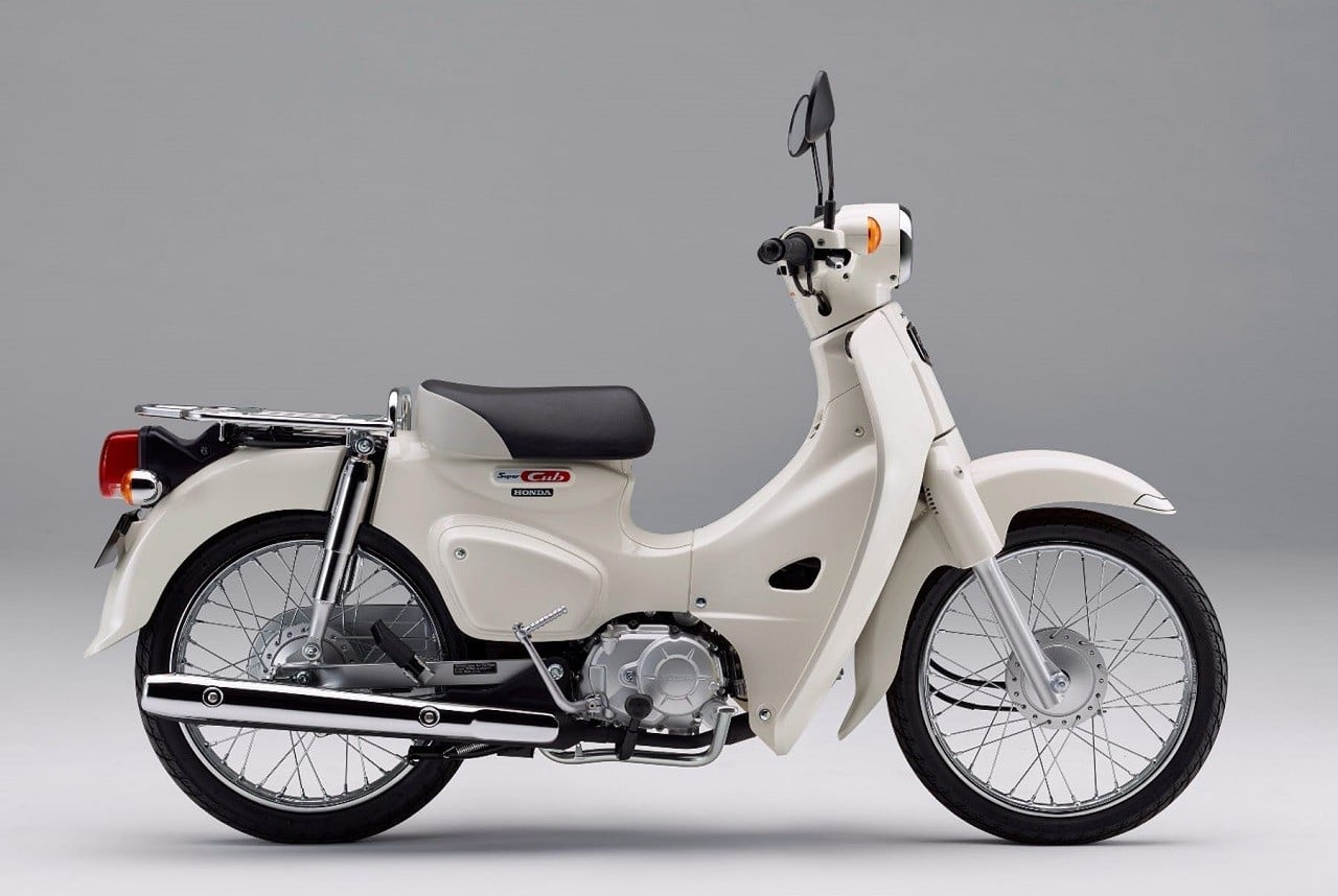 New Honda Motorcycles 2018 >> 2018 Honda Super Cub | Men's Gear