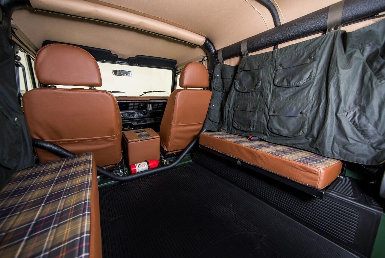 Project Barbour Land Rover Defender Giveaway Men S Gear