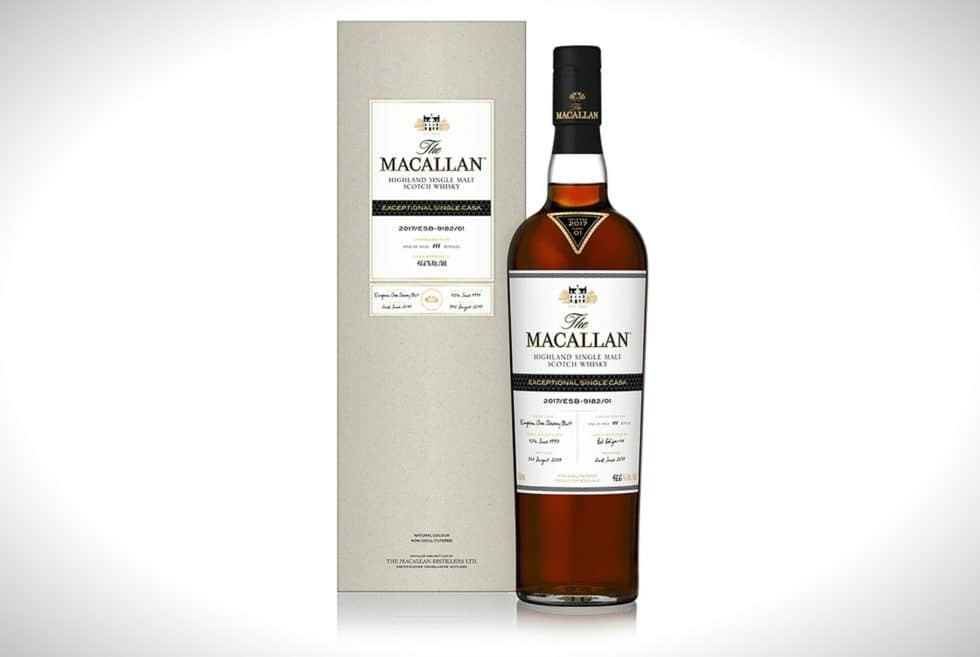 macallan exceptional single cask scotch whisky mens gear