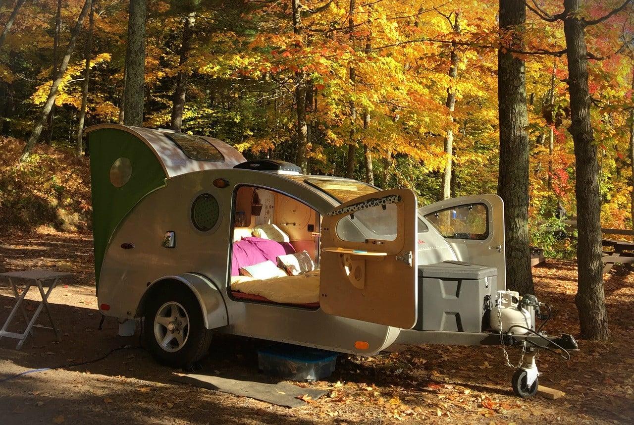 Vistabule Teardrop Camping Trailer Men S Gear