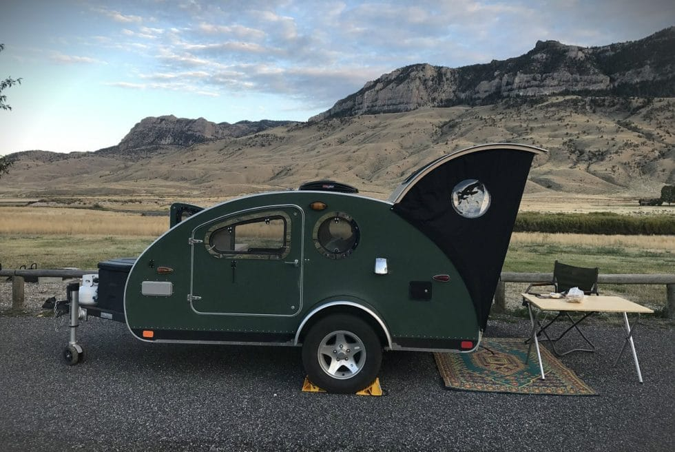 Vistabule Teardrop Camping Trailer Men S Gear