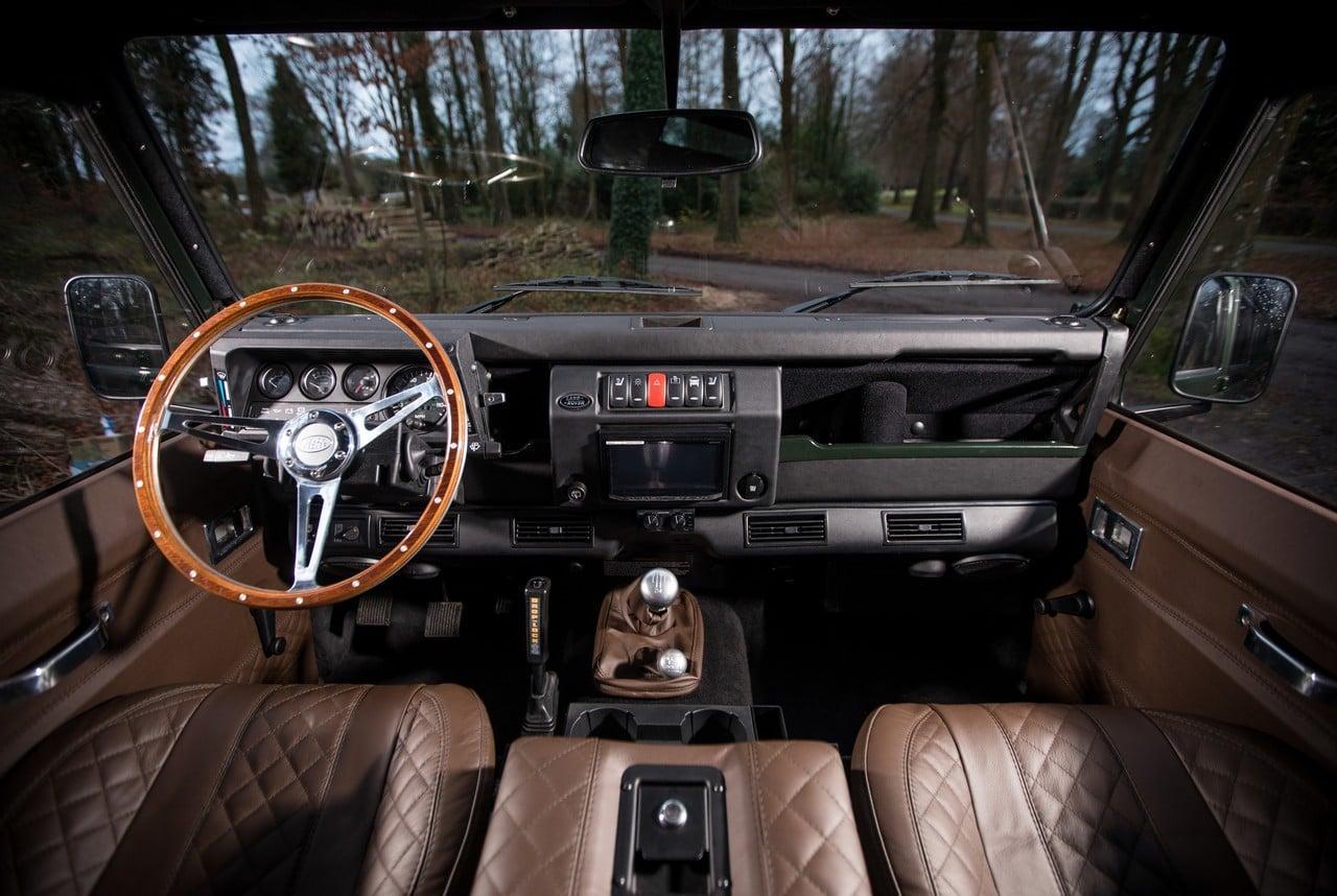Land Rover Truck >> ARKONIK Land Rover Defender KOOP D110 | Men's Gear
