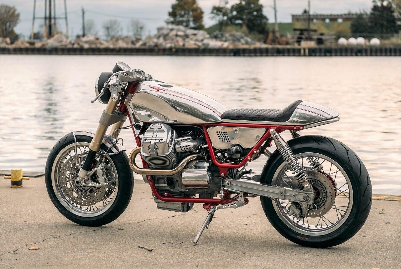 moto guzzi v9 cafe racer men 39 s gear. Black Bedroom Furniture Sets. Home Design Ideas