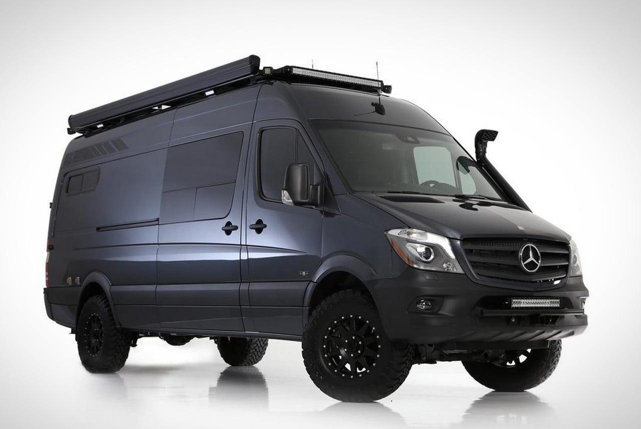 Air Suspension System >> Mercedes Benz Sawtooth 4x4 Adventure Van   Men's Gear