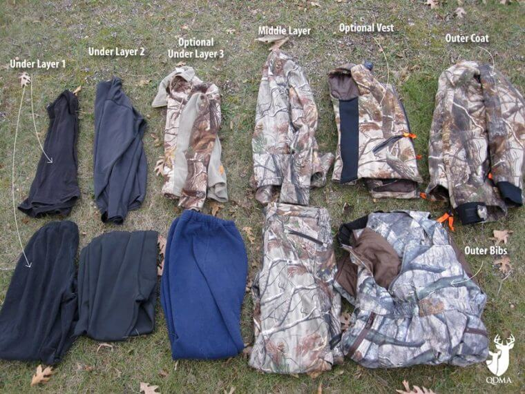 0ef673151b964 Best Cold Weather Bow Hunting Clothing - An Example of layering