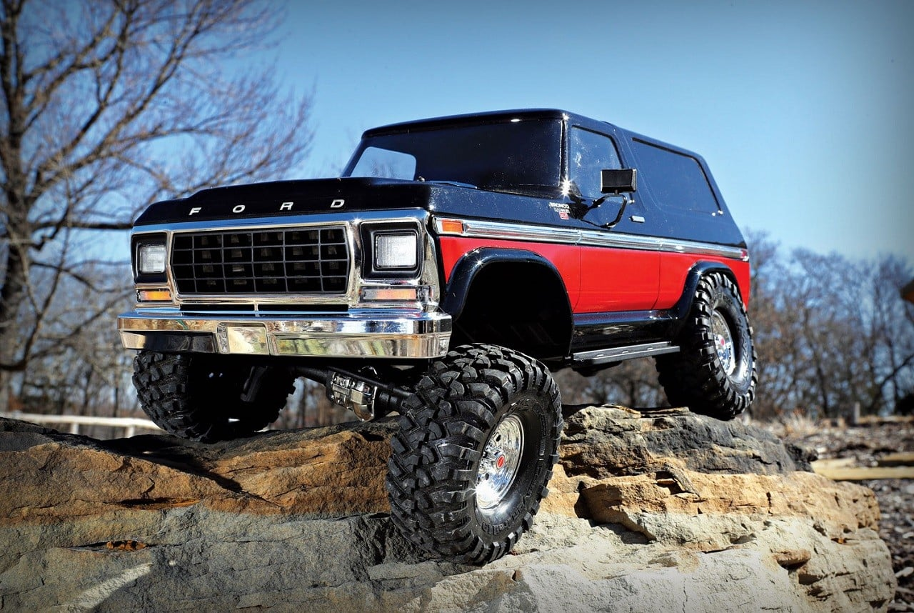 Traxxas 1979 Ford Bronco Rc Truck Men S Gear