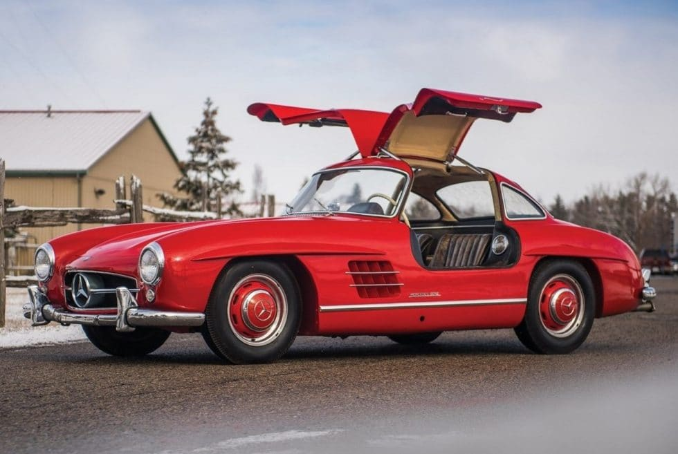 1957 mercedes benz 300 sl gullwing men 39 s gear. Black Bedroom Furniture Sets. Home Design Ideas