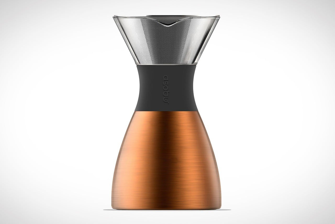 Asobu Insulated PourOver Coffee Maker | Men's Gear