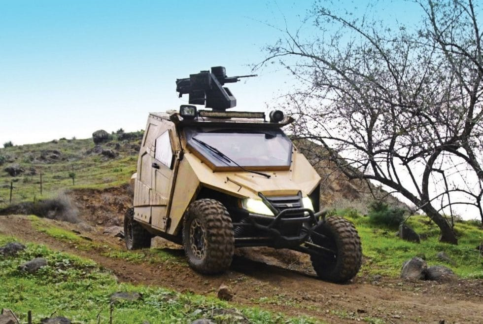 Yagu Ultralight Special Ops Armored UTV
