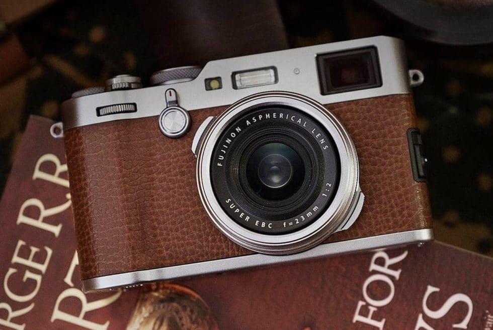 Fujifilm X100f Camera Brown Leather Edition Men S Gear