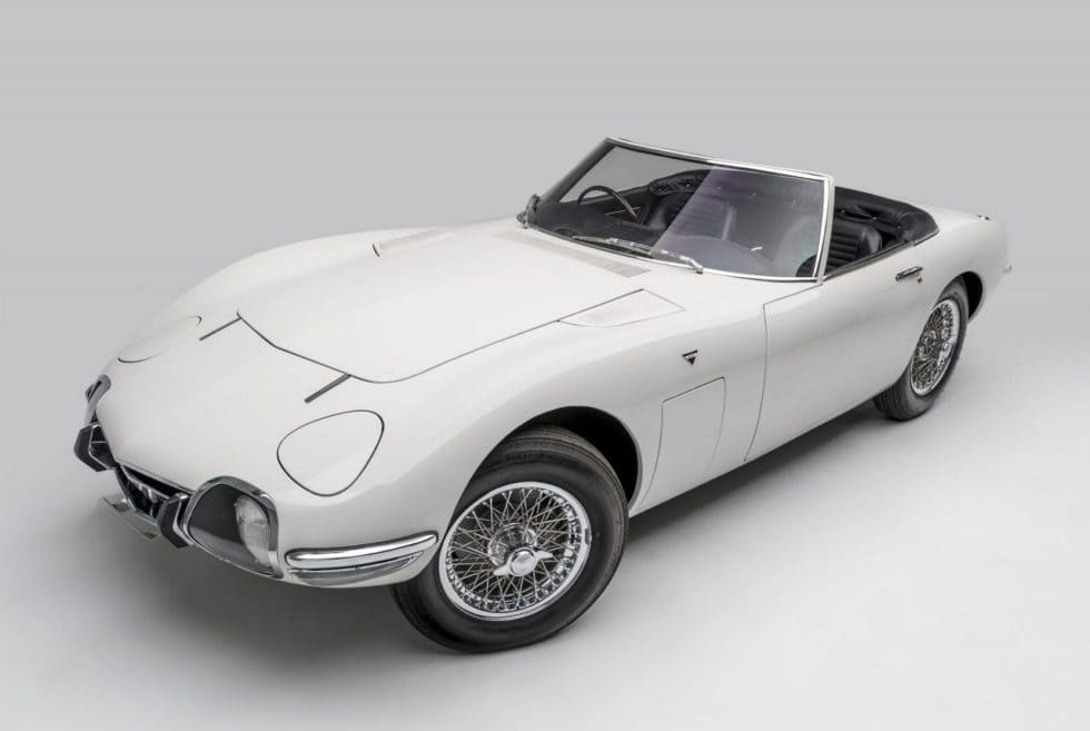 1967 Toyota 2000GT Roadster