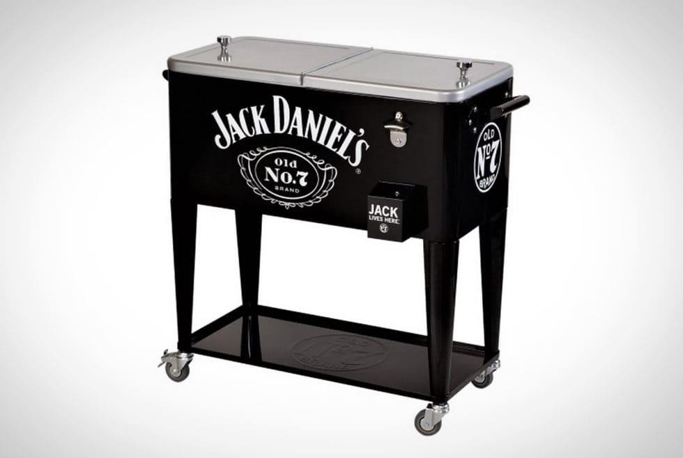 Jack Daniel's 80-Quart Rolling Party Cooler
