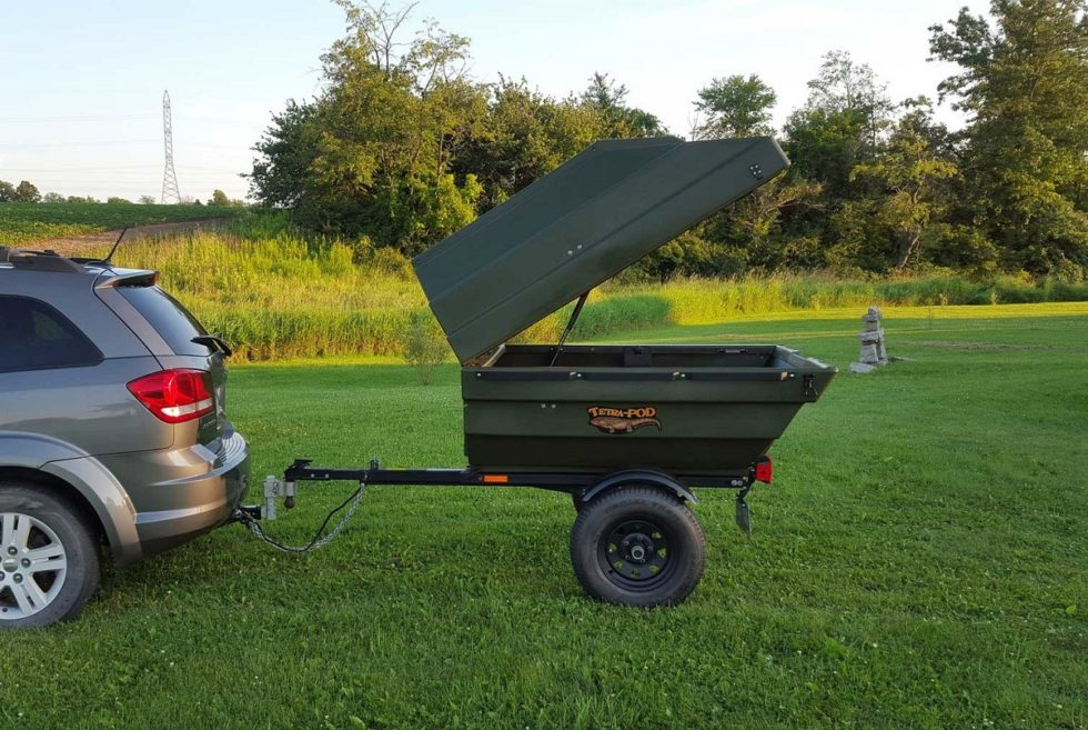 Tetra-POD Tub Trailer & Boat