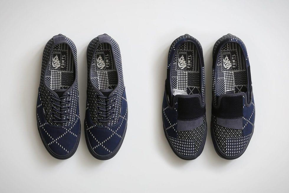 Vans X FDMTL Vault Sneakers
