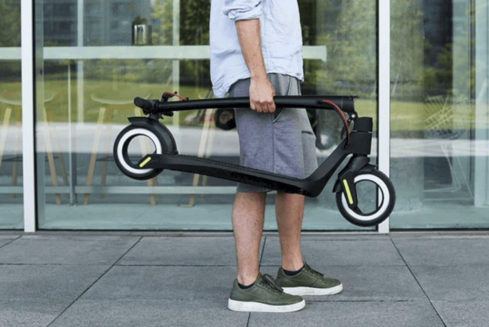 Aktivo Scoot: The Hubless Electric Scooter