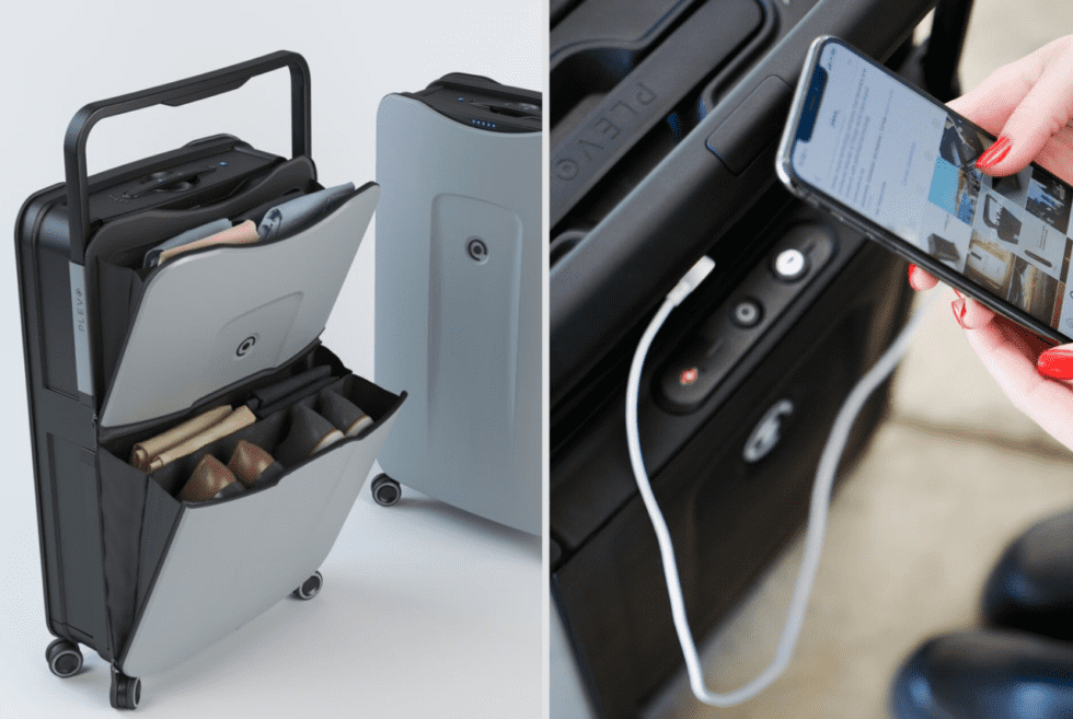Smart Luggage by Plevo