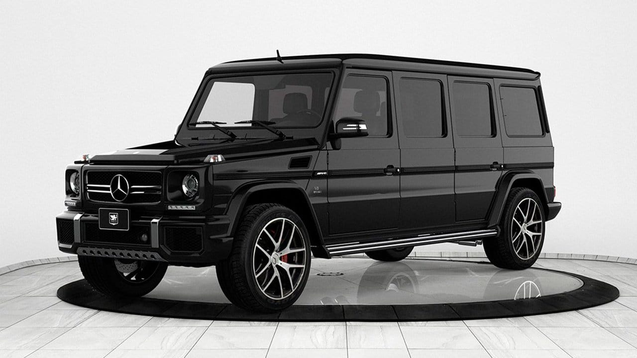 Limo For Sale >> INKAS 2018 Mercedes-Benz G36 AMG Armored Limousine | Men's ...