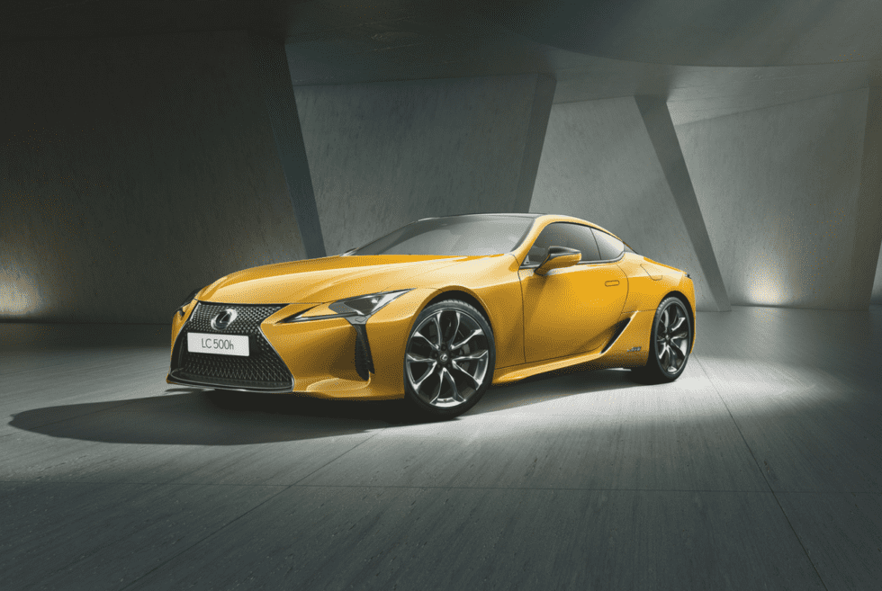Lexus LC500 Naples Yellow Limited Edition