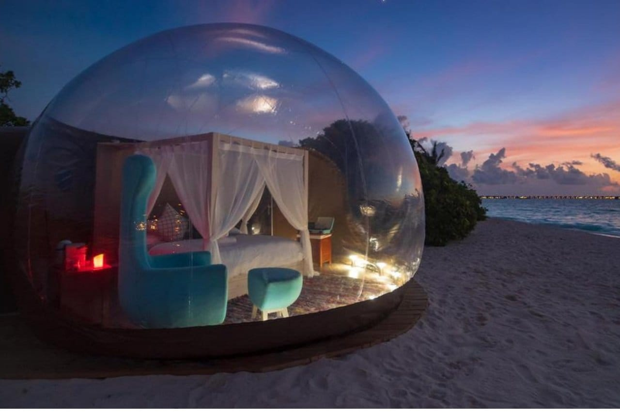 The Beach Bubble Tent
