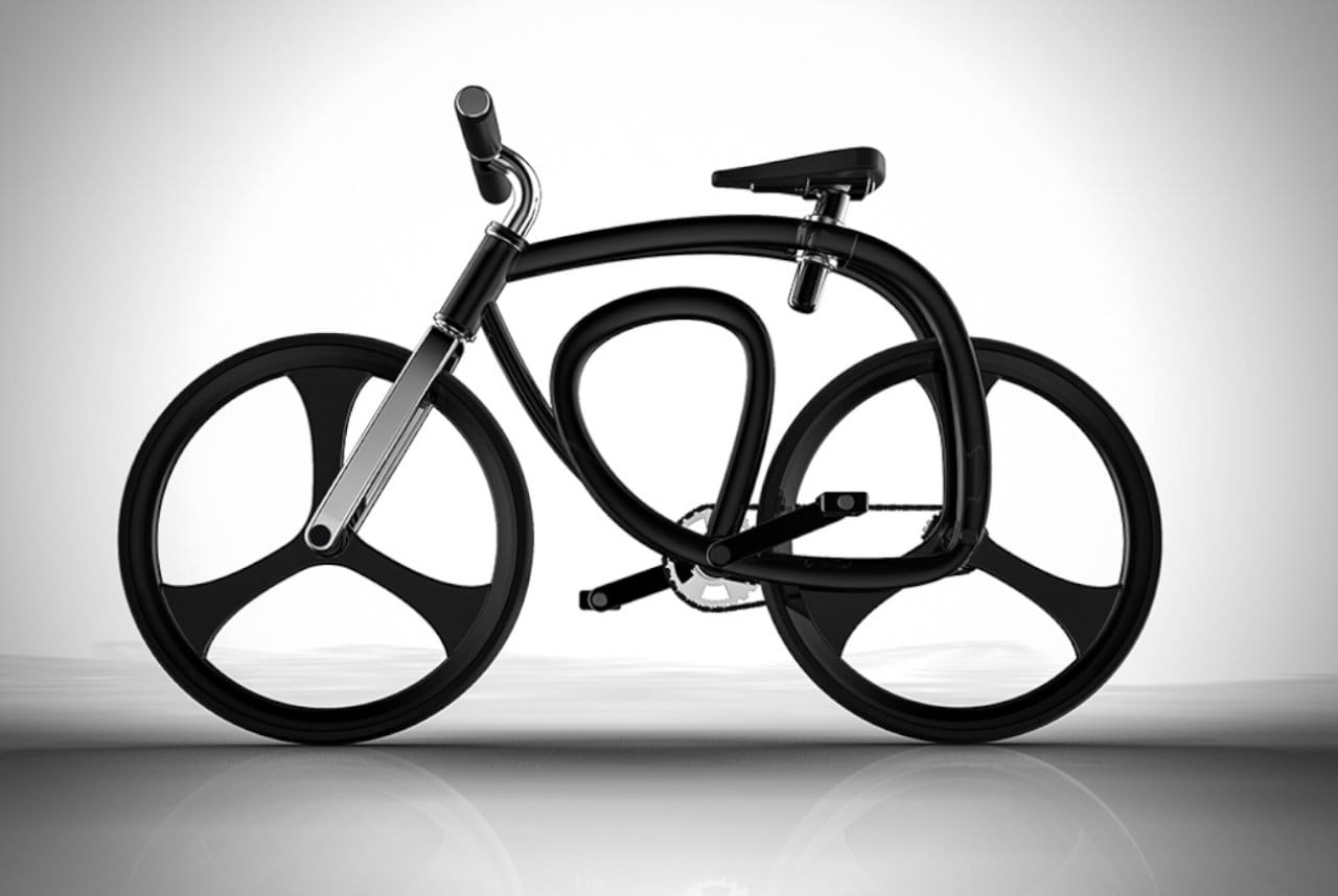 Continuous Loop Bicycle By Steve Jenkins