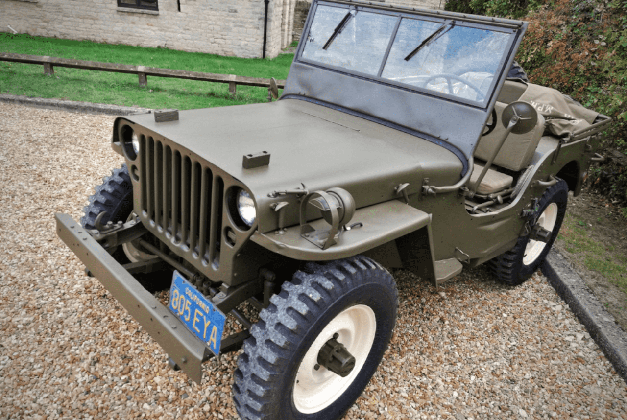 A 1945 Jeep Willys Once Owned By Steve Mcqueen Men S Gear