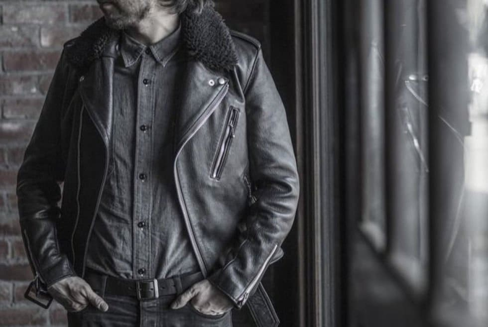 Addict Clothes Sheepskin Highwayman Jacket