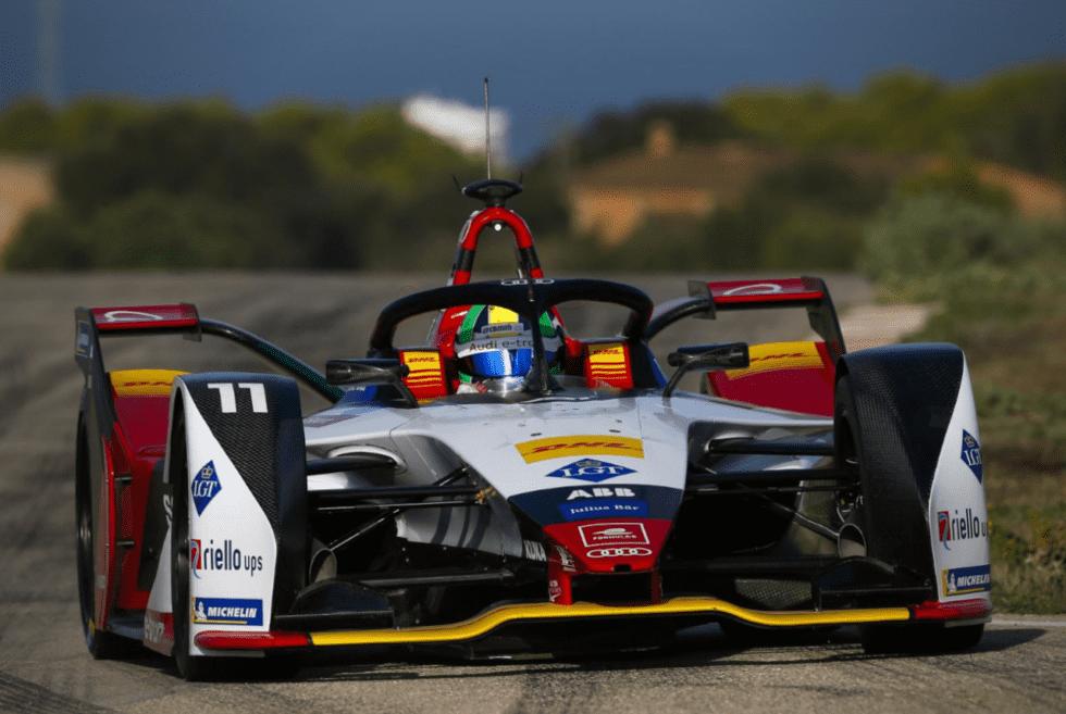 Audi E-Tron Formula E Race Car