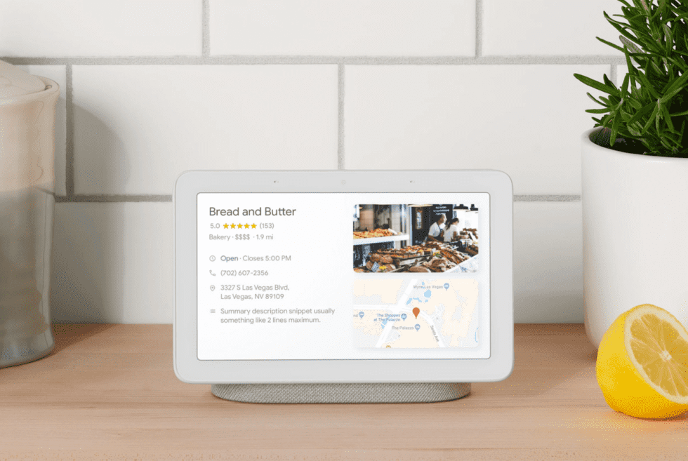 Google Home Hub Smart Speaker