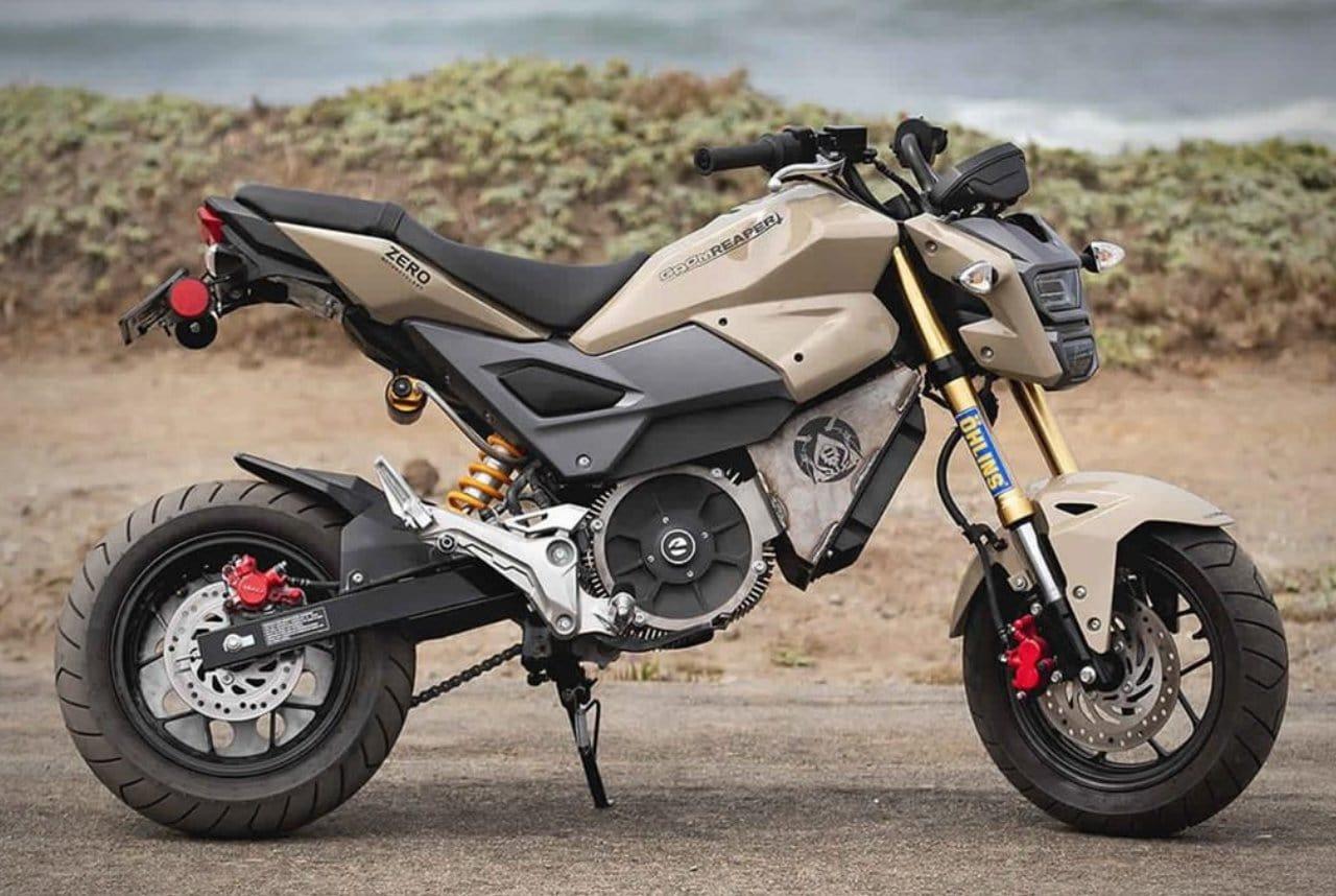 Honda Grom Reaper Zero Electric