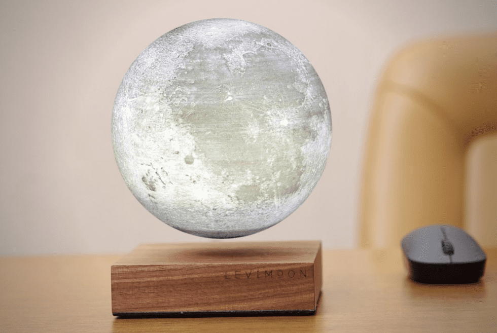Levimoon: The Moon On Your Bedside Table