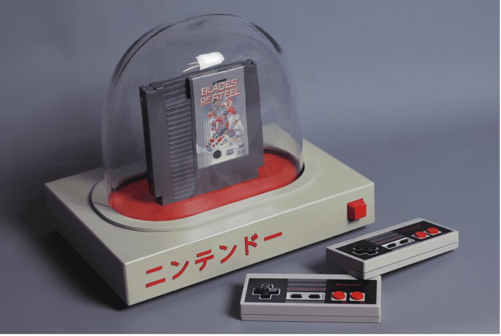 Love Hulten PYUA retro console