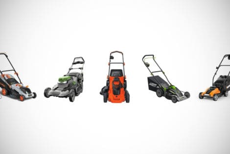Cordless Electric Lawnmowers