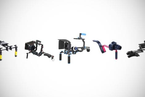 DSLR shoulder rigs