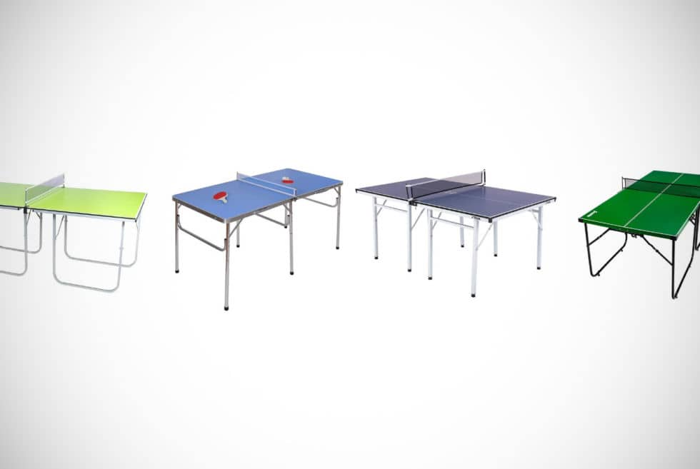 Top 12 Portable Ping Pong Tables