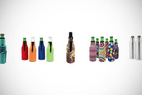 beer bottle koozie holders