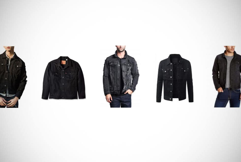 Top 10 Black Denim Jackets For Men