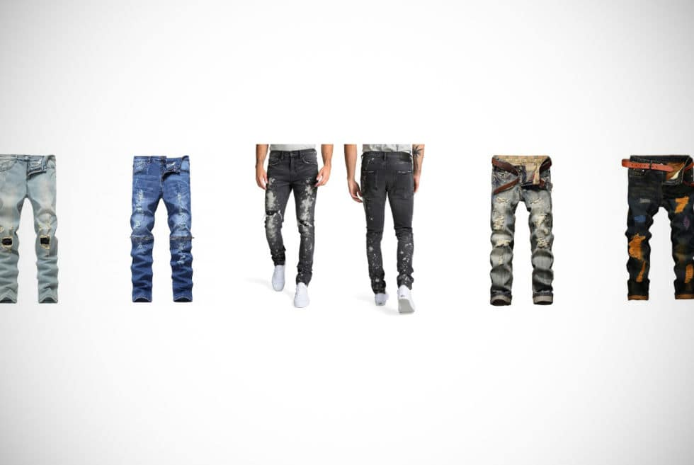 Distressed Jeans For Men