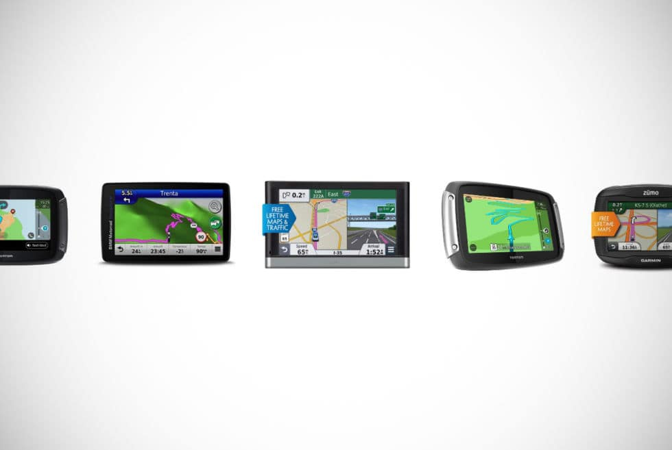 Motorcycle GPS Navigation Systems