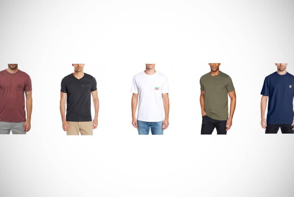 Pocket T-Shirts For Men
