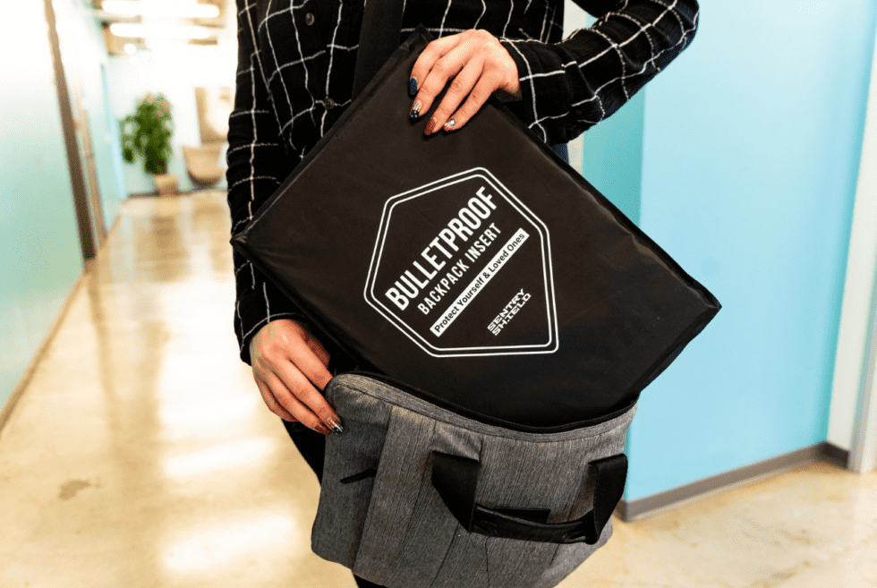 SentryShield Bulletproof Bag Insert